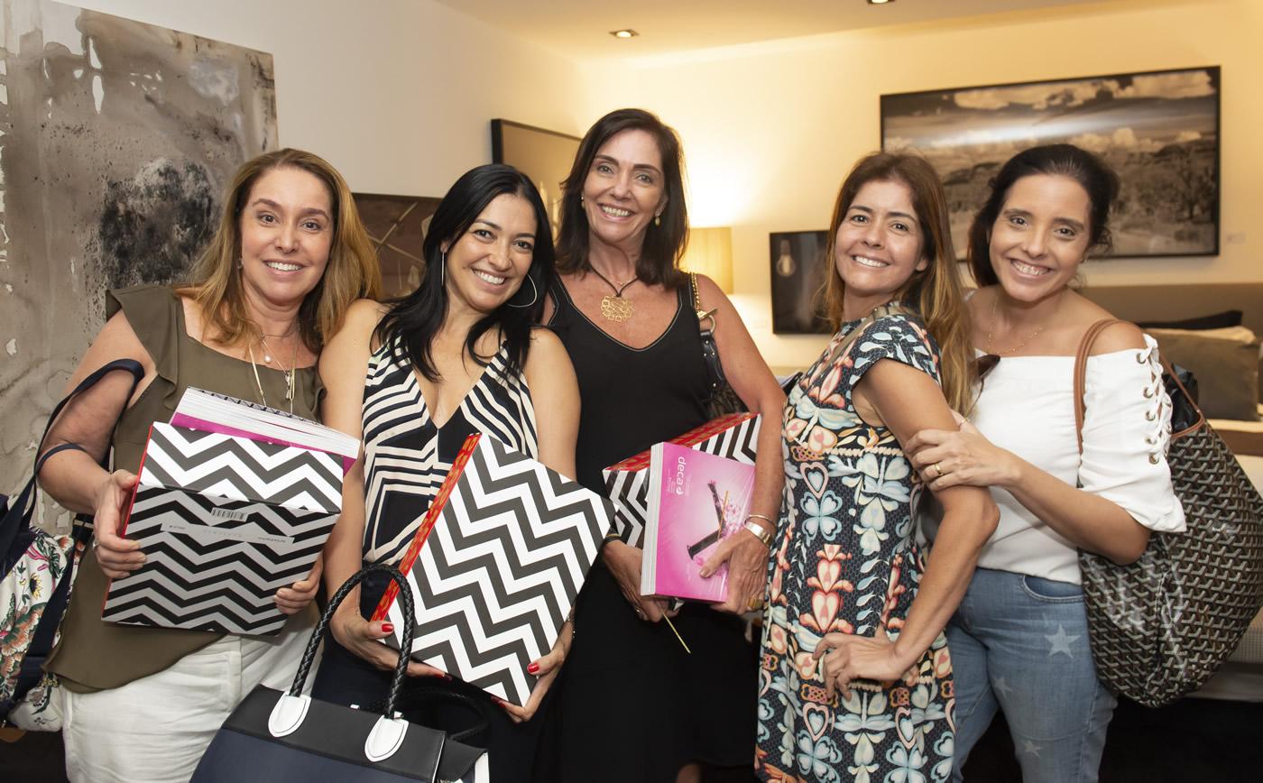 Anna Malta, Cristiana Cortes, Beth Kalache, Katherine Fernadez, Patricia Malizia