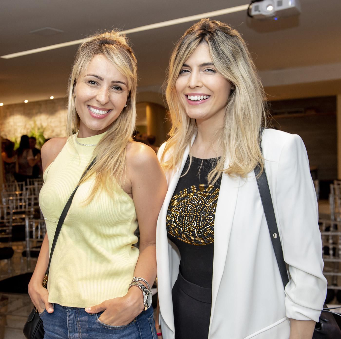 Bethania Rocha e Aline Celles