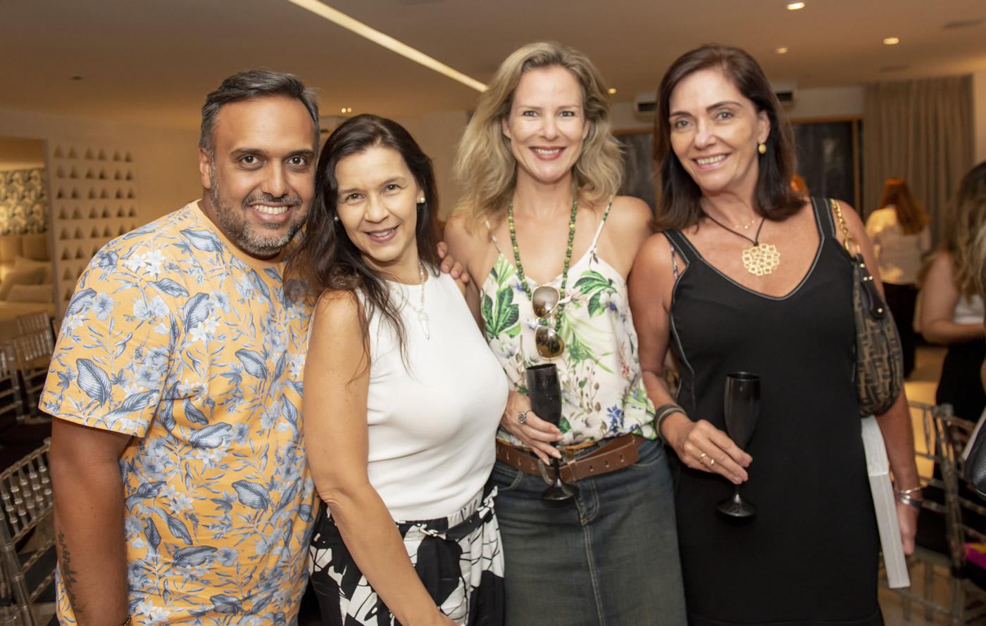 Luiz Claudio Ceia, Virna Carvalho, Cristiane Garcia Klingl e Beth Kalache