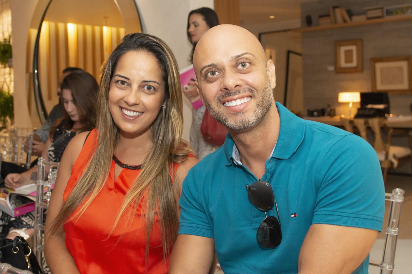 Patricia Machado e Ivan Leite