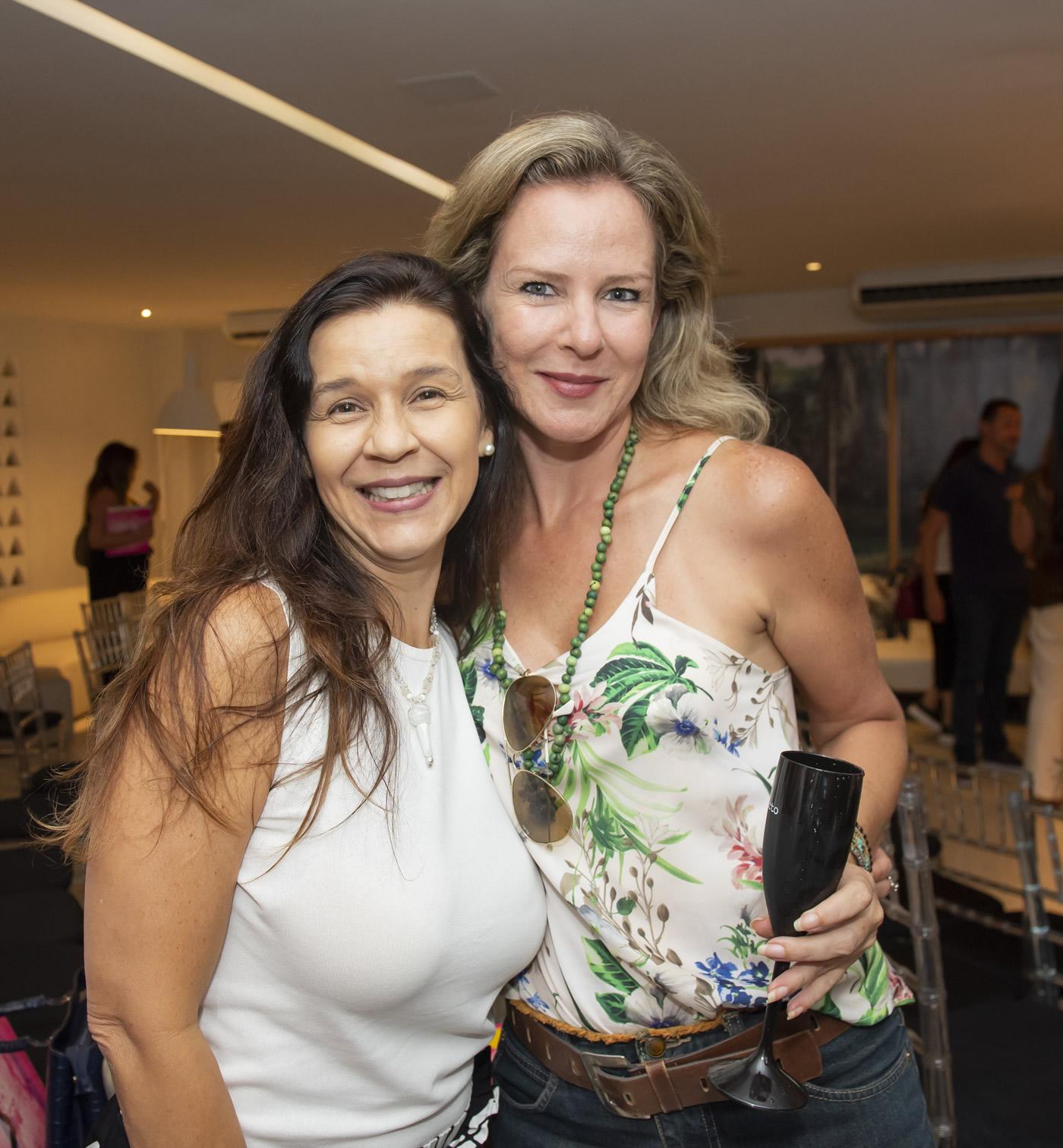 Virna Carvalho e Cristiane Garcia Klingl
